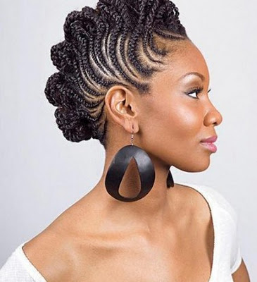 Swell Braided Natural Hair Styles Mynaturalreality Hairstyle Inspiration Daily Dogsangcom